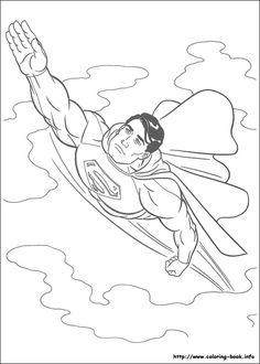 Dibujos Para Colorear Superman 25