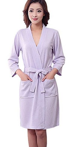 Whether you want to perform your morning routine or have just stepped out of the shower, good bathrobes for women can help keep you warm and dry.