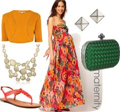 What to Wear to Your Baby Shower - Longing4Length.com #fashion #whattowear