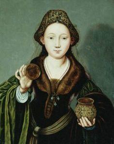 Marie Madeleine et la jarre ouverte