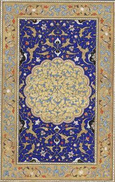 Frontispiece with a dedication to Sultan Khalil. Iran, 1478.