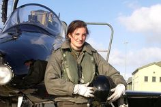 Female pilot Royal Air Force