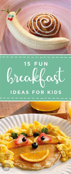 The first day of school can send even the most organized family into a tailspin. So, before summer is over, check out these 15 fun breakfast ideas for kids from Hallmark. They're sure to inspire you with creative ways to serve up fresh fruits and classic morning recipes.