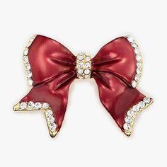 love this reddish bow :)