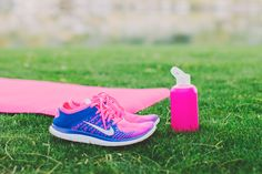 { Weekend Workout } #pink #yoga #nike