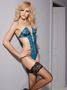one of the hottest images La Senza have done thus far with the gorgeous Ginta