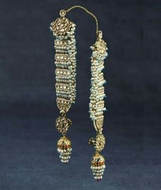 Gold And Silver Earrings Product Royal Jewelry, India Jewelry, Fine Jewelry, Silver Jewelry, Aquamarine Jewelry, Silver Earrings, Diamond Earrings, Hyderabadi Jewelry, Antique Jewelry