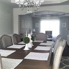 What Can We Say About Yourbeautifulhome S Dining Room With Our Tanshire Table And Chairs