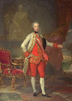 Anton Von Maron Portrait of Emperor Joseph II hand painted oil painting reproduction on canvas by artist Anton, Austria, Spanish Netherlands, Maria Theresia, Francis I, 18th Century Clothing, Holy Roman Empire, Roman Emperor, Oil Painting Reproductions