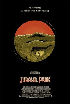 cameron lewis' jurassic park poster.