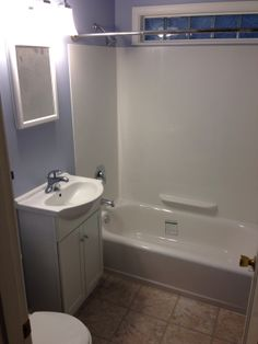 New And Very Small 5x7 Foot Bathroom Flooring Is Allure From Home Depot And Was