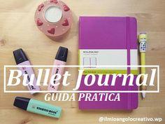 Ecco una guida in italiano tutta sul Bullet Journal! Bullet Journal Teacher, Bujo Doodles, Brush Lettering, Filofax, Organization, Hobby, How To Plan, Learning, Studying