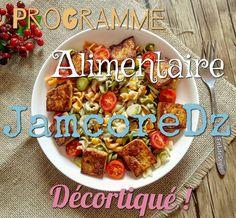 Aujourd'hui, on va décortiquer un peu le programme alimentaire de Jamcoredz pour femmes, l'expliquer plus en détails, pour mieux cerner ce programme.
