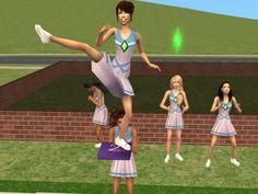Sim Scenes - Setting up a Scene: Cheer Practice