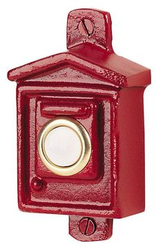 Fire Alarm Box Doorbells - http://www.firecatalog.com/product/Fire-Alarm-Box-Doorbells/Firefighter_Home_And_Garden_Decor