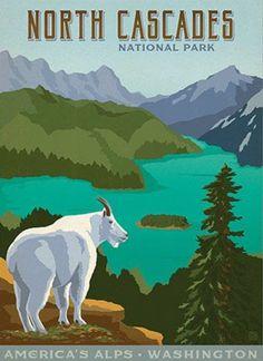 North Cascades National Park, Washington ~ Anderson Design