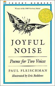 Poems that celebrate the noise of insects are collected in this book. The poems are meant to be read aloud by two readers in either alternating voices or simultaneous voices.