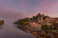 Dawn on the river Lot, France by Jeff Holdgate on 500px