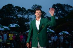 The 2013 Masters Champion, Adam Scott! The sweetest prize in golf...The green jacket.