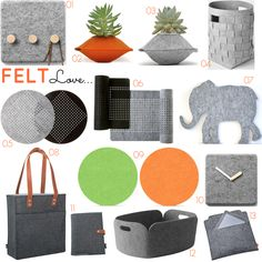 Felt | Homeware & Accessories