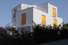 Polygonales Puzzle - Doppelhaus in Zürich