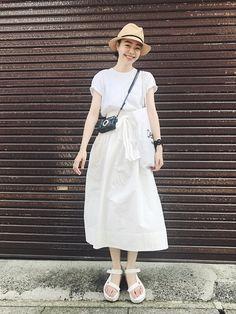 homspunのスカートを使ったKanocoのコーディネートです。WEARはモデル・俳優・ショップスタッフなどの着こなしをチェックできるファッションコーディネートサイトです。
