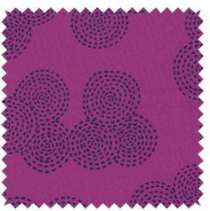 Tissu Stitch circle jewel
