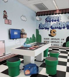 cool Stylish Animaze Playful Furniture System Ideas That Kids Friendly To Try Right Now Kids Cafe, Kids Library, Hobby Room, Kid Spaces, Kids House, Play Houses, Game Room, Kids Playing, Kids Bedroom