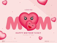 Creative On Mother's Day By Ruby Huma on Behance Happy Mothers Day, Adobe Illustrator, Are You Happy, Appreciation, Behance, Creative, Illustration, Mother's Day, Illustrations
