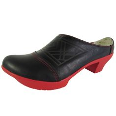 El Naturalista Womens N570 Vedoira Clog Shoes #ElNaturalista #Mules