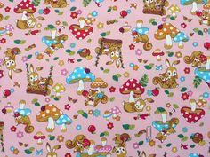 Hasi rosa - fabric