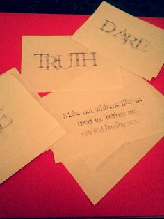 sexy truth or dare free printables for couples. Couples bedroom game.