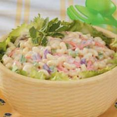 This is the best macaroni salad been making this for years! (seems everyone wants this recipe) Enjoy!