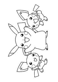 How to draw xerneas pokemon x and y step by characters 1 pinterest how to draw to draw - Dessin de pikachu ...