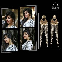 This season we are all about long looks and lasting impact !  Whatsapp +91 - 9769714221  #Siyora #Jewellery #jewelry #earrings #earringsfashion #fashion #fashionista #fashionblogger #fashionjewelry #onlinestore #onlineshopping #onlinejewellery #wedding #Designer #conceptjewellery #cocktail #pearl #gold #bollywood #bollywoodfashion #longearrings #Accessories #fashionaccessories #Mumbai #delhifashionblogger #beautyblog