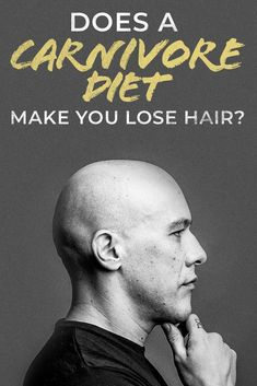 What's up with the carnivore diet and hair loss?  Some people say it makes you lose hair and others say it promotes!  So, what is going on?  We drop an article which attempts to answer this question and shed a little light on the situation! #hairloss #hair #bald #carnivordiet #diet #dietplan #plan #keto #ketosis #ketogenic #paleo Zero Carb Diet, No Carb Diets, Meat Diet, Lose Weight, Weight Loss, Some People Say, Easy Diets, Good Energy, Diet And Nutrition