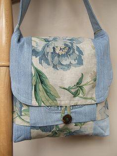 beautiful messenger bag :), schöne Idee