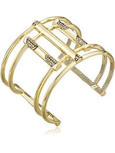 House of Harlow 1960 Defined Deco Cuff Bracelet ❤ House of Harlow Jewelry