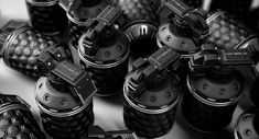 From Dark Arts | The Verge.  My guess is that these are futuristic hand grenades. jdm