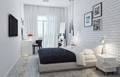 Фото: спальня в скандинавском стиле