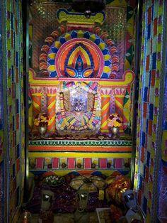 श्री राणी सती दादी: Pratham Navratri Jhanki at Ranisati Dadi Mandir Na...