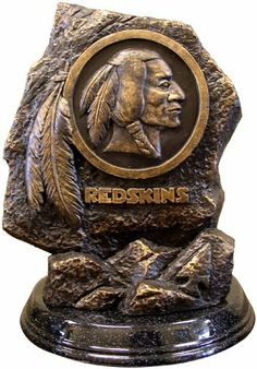 NFL Washington Redskins Desktop Statue by Wild Sales. $99.99. Officially licensed by the NFL and NCAA. NFL Washington Redskins Desktop Statue