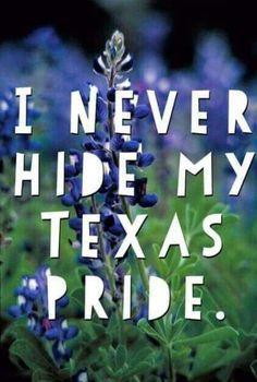 I never hide my Texas pride. Texas Texans, Texas Longhorns, Texas Humor, Texas Funny, Texas Meme, Texas Quotes, Miss Texas, Only In Texas, Republic Of Texas