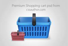 Beautiful Free Shopping Cart Icon PSD