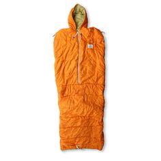 """Sleeping Bag """"zippers at the shoulders and feet allow this sleeping bag to become a very versatile outfit"""""""