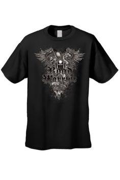 Men's/Unisex Biker Road Warrior Skeleton BLACK Short Sleeve T-shirt (XXL) http://bikeraa.com/mensunisex-biker-road-warrior-skeleton-black-short-sleeve-t-shirt-xxl/