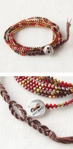 CHAN LUU bracelet  http://item.rakuten.co.jp/lilietnene/cl3a-bs3598-re/