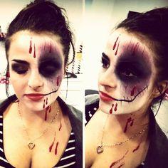 #facepainting#makeup#haloween