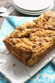 Celebrate the season with traditional cinnamon babka
