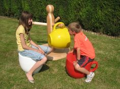 Giant teacup chairs